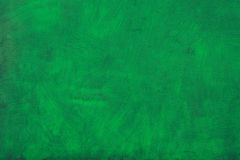 Green painted background texture Stock Image