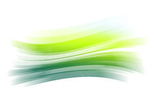 Green painted brush stroke background Royalty Free Stock Images