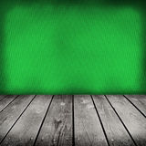 Green painted old wooden wall Royalty Free Stock Photos