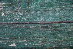 Green painted wood stock photography
