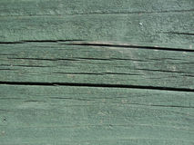 Green painted wood texture Royalty Free Stock Photos