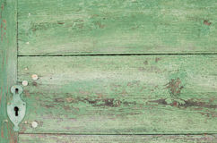 Green painted wooden texture background Royalty Free Stock Photo