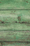 Green painted wooden texture background Royalty Free Stock Photos