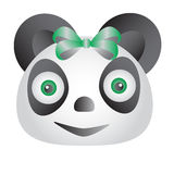 Green Panda Royalty Free Stock Photography