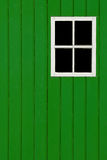 Green panel. Green wood panel background with blank window copy space Royalty Free Stock Photography