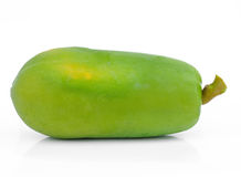 Green papaya Stock Photo