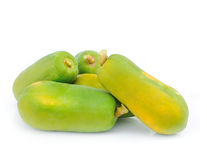 Green papaya Royalty Free Stock Photos