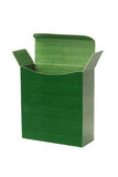 Green Paper Box Stock Photography