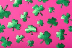 Green paper clover Royalty Free Stock Photos
