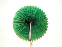 Green paper flower Stock Images