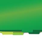 Green paper folder files. Green set of paper folder files Stock Photography