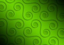 Green paper geometric pattern, abstract background template for website, banner, business card, invitation Royalty Free Stock Photography