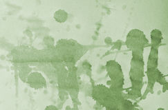 Green paper with stains Royalty Free Stock Photo