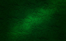 Green paper texture. And a light on the middle Royalty Free Stock Photos