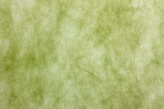 Green paper texture Royalty Free Stock Photography