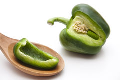 Green paprika Royalty Free Stock Images