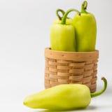 Green paprika, Stock Image