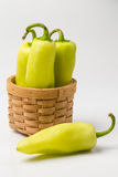 Green paprika, Royalty Free Stock Images