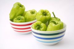Green Paprika Royalty Free Stock Image