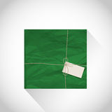 Green parcel box Royalty Free Stock Images