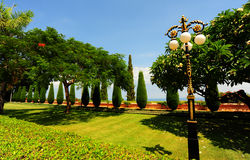 Green Park. Beautiful Tranquil Green Park Garden In Spring Royalty Free Stock Photos