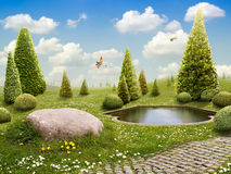 Green Park Royalty Free Stock Photo