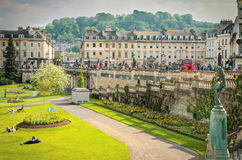 Green Park,Bath, England Stock Images
