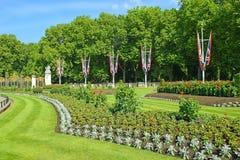 Green Park Canada Gate near Buckingham Palace, London Royalty Free Stock Images