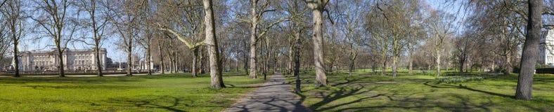 Green Park Panoramic Stock Photo