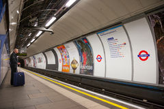 The Green Park station Royalty Free Stock Photography