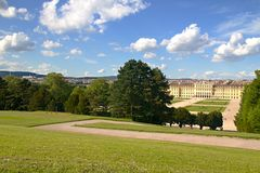 Green park in Vienna Royalty Free Stock Photography