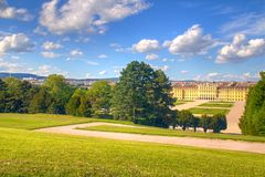 Green park in Vienna Stock Images