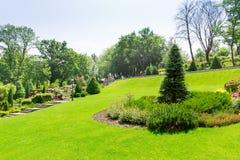 Green park Stock Photos