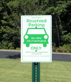 Green Parking Sign Royalty Free Stock Images