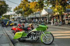 Green Parrot Bar - Key West, Florida Royalty Free Stock Images