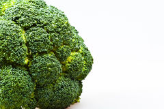 Green part of the broccoli Royalty Free Stock Photos