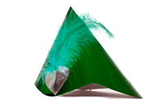 Green Party Hat Stock Images