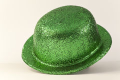 Green party hat Royalty Free Stock Photos