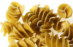 Green Pasta spirals Stock Photos