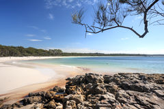 Green Patch Beach Australia Stock Photography