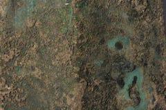 Green Patina metal texture Stock Photography