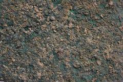 Green Patina metal Stock Photography