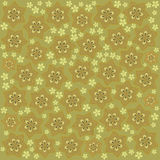 Green pattern. In the japan stile Stock Photography