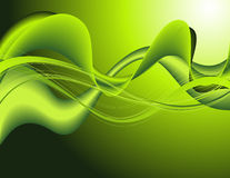 Green_pattern_abstract_background Stock Image
