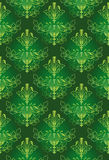 Green Pattern Background Royalty Free Stock Image
