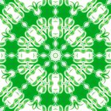 Green pattern background symmetry kaleidoscope. backdrop ornamental. Green pattern background symmetry kaleidoscope geometric texture. backdrop ornamental stock illustration