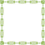 Green pattern frame Royalty Free Stock Photo