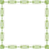Green pattern frame Royalty Free Stock Photo