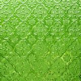 Green pattern glass  background Stock Photos