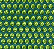 Green pattern with mini 3d bubble graffiti. Agreen pattern with mini 3d bubble graffiti Stock Images